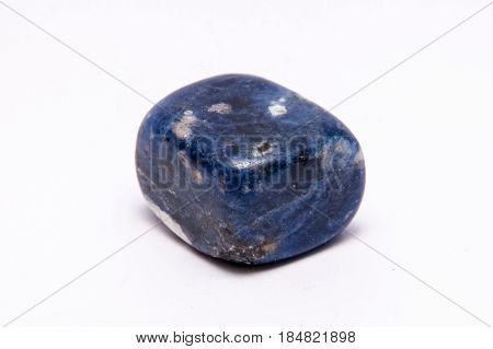 Blue Pattern Gemstone Gem Jewel Mineral Precious Shiny