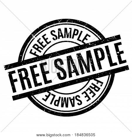 Free Sample rubber stamp. Grunge design with dust scratches. Effects can be easily removed for a clean, crisp look. Color is easily changed.