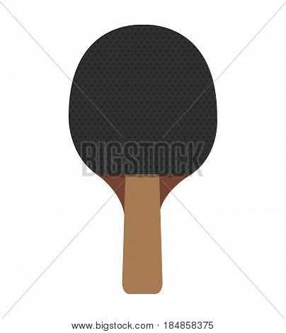 ping pong racket icon vector illustration design