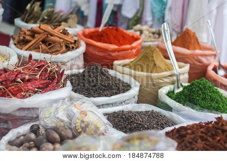 condiment. The Indian forge is famous for a huge variety of spices
