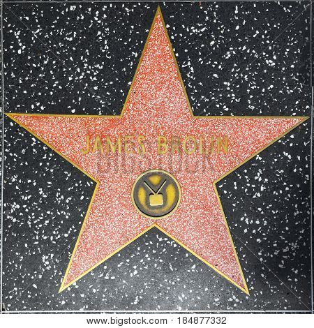 James Brolins Star On Hollywood Walk Of Fame