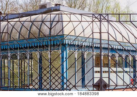 Tourainer pavilion in the city park of the city of Muelheim in Germany.