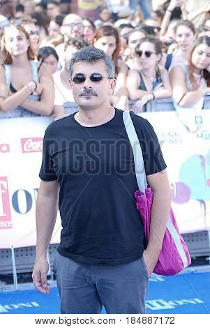 Giffoni Valle Piana Sa Italy - July 21 2016 : Paolo Genovese at Giffoni Film Festival 2016 - on July 21 2016 in Giffoni Valle Piana Italy
