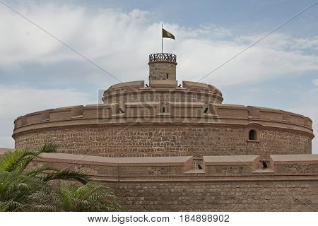 The fortress Real Felipe was built over 250 years ago built to  defend the Peruvian coast