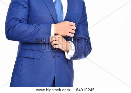 classy and elegant formal outfit business fashion isolated on white background
