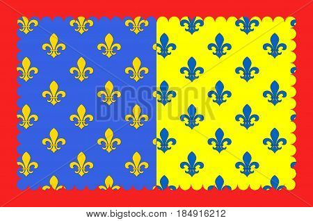 Flag of Saint-Flour is a commune in the Cantal department in the Auvergne region in south-central France