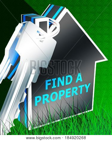 Find A Property Shows Home Search 3D Rendering