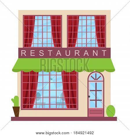 Restaurant Dinner Means Gourment Food 3D Illustration