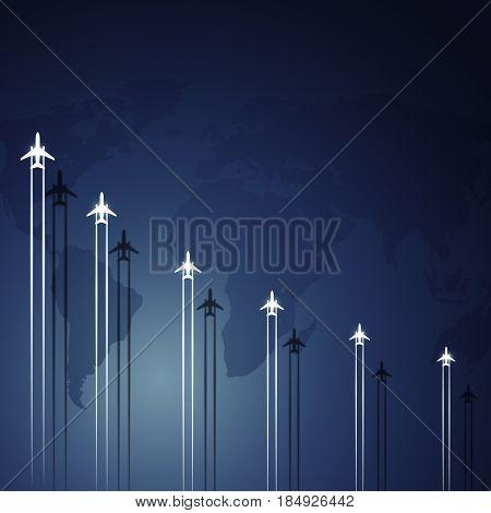 Aviation Flying Jets