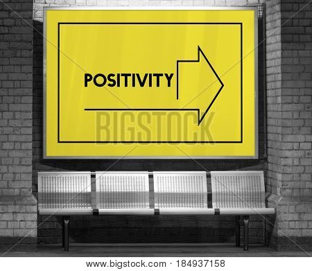 Make It Happen Positivity Attitude Possible Graphic Words