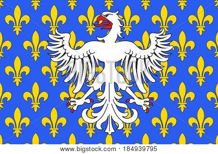 Flag of Le Puy-en-Velay is a commune in the Haute-Loire department in south-central France