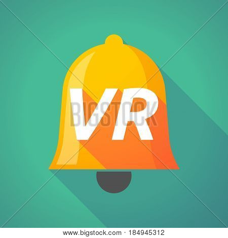 Long Shadow Bell With    The Virtual Reality Acronym Vr