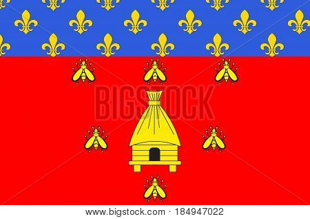 Flag of Brioude is a commune in the Haute-Loire department in the Auvergne region in south-central France