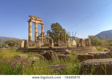 The Tholos Of The Sanctuary Of Athena Pronaia