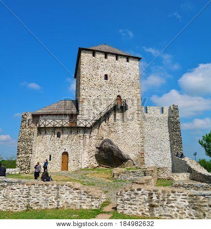 Vrsac town Serbia fortress called kula landmark architecture
