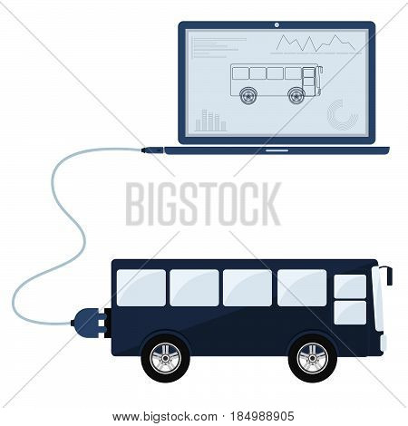 Bus Automation Using Laptop