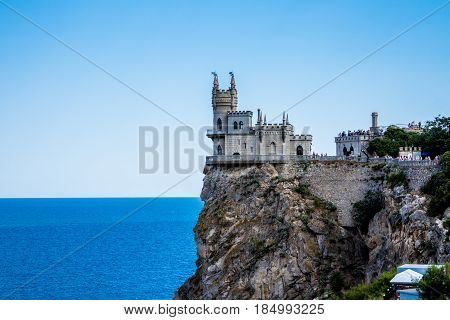 Castle Swallow S Nest Near Yalta In Crimea
