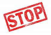 stop rubble stamp sign. stop stamp on white background. poster