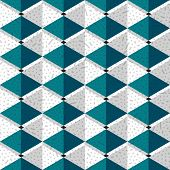 geometric vector seamless -Memphis pattern 80s-90s-vector illustration. Texture painted by hand, bright diamonds. poster