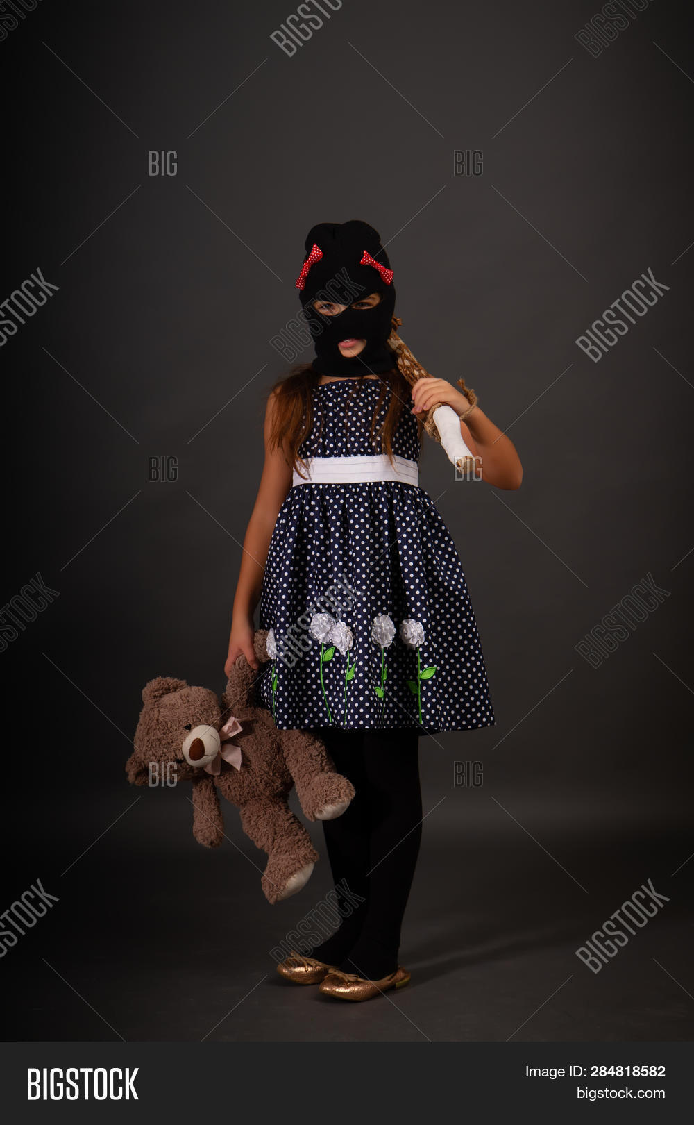 225fead05c826 One Teenage Girl Hooligans In Bright Smart Dress