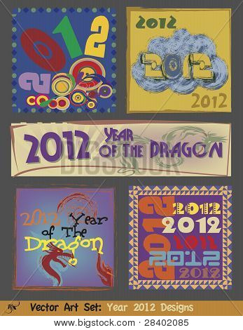Vector Art - 2012 Designs