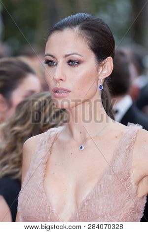 CANNES, FRANCE - MAY 09: Marica Pellegrinelli attends the screening of Yomeddine during the 71st Cannes Film Festival on May 9, 2018 in Cannes, France.