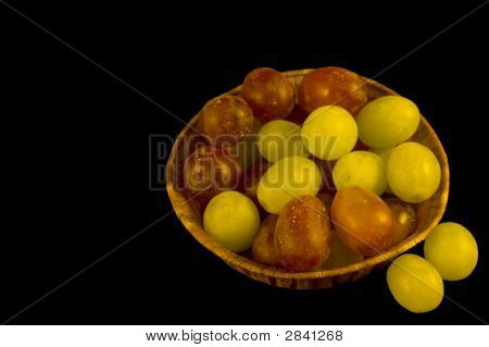 Punnet Of Mixed Grapes