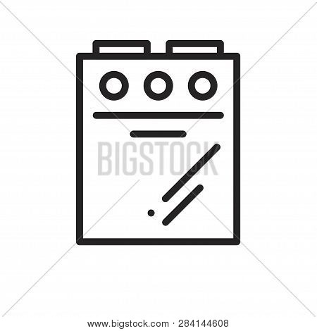 Convection Oven Icon. Trendy Flat Vector Convection Oven Icon On Transparent Background From Electro