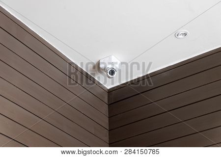 Cctv Security Camera Monitoring Your Home And Room