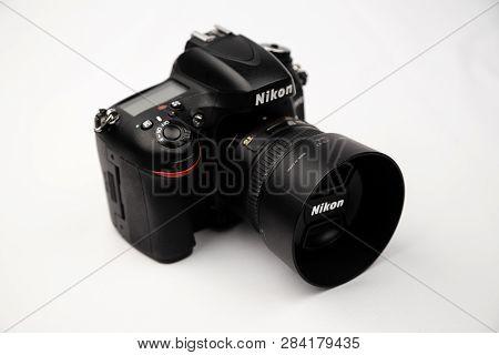 Nikon D610 Photo Of A Closeup In The Studio