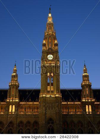 The Vienna City Hall