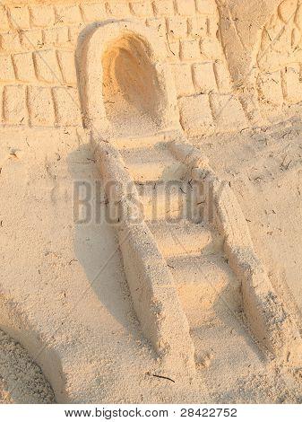 Sand Castle Entrance