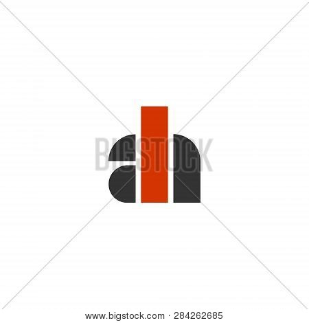 Ah Initials Monogram Vector Photo Free Trial Bigstock