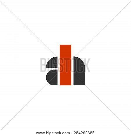 Ah Initials Monogram Vector Photo Free Trial Bigstock