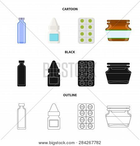 Vector Design Of Retail And Healthcare Symbol. Set Of Retail And Wellness Stock Vector Illustration.