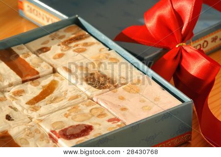 Sweet Gift With Nougat