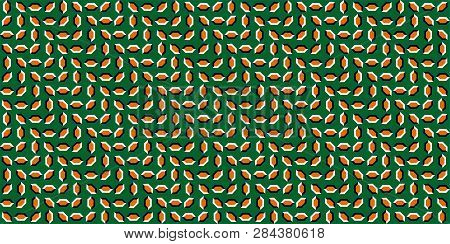 Pulsating Background - Optical Illusion. The Optical Illusion Of Movement Of Fluctuating Polygons, M
