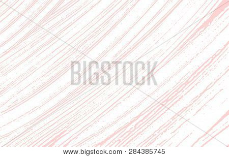 Grunge texture. Distress pink rough trace. Fascinating background. Noise dirty grunge texture. Bewitching artistic surface. Vector illustration. poster