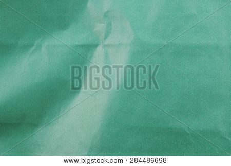 Green Paper Texture For Background Stock Photos