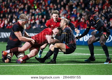 February 15th, 2019, Cork, Ireland: Action From The Munster Rugby Versus Isuzu Southern Kings Match