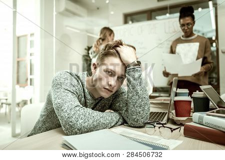 Postgraduate Student Feeling Like Outcast In His New Class