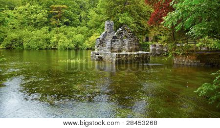 Monk's Fishing House At Cong Abbey