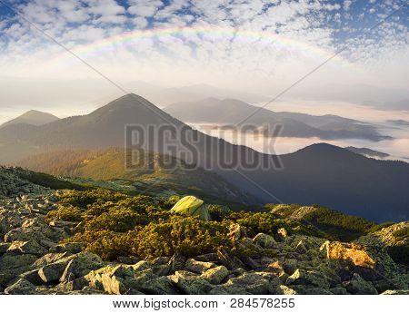 Gentle Misty Mountains