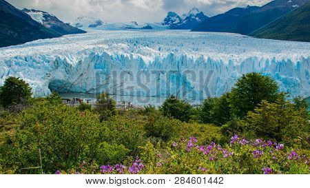 The Perito Moreno Glacier, Named For A 19th-century Explorer, Is Currently 19 Miles Long And Rises A