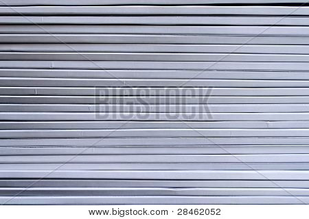Strips Of Metallic Color. The Background Texture