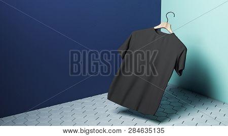 Levitating Black Tshirt