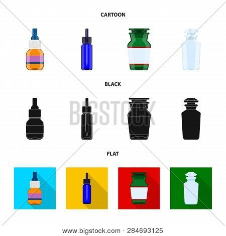 Isolated Object Of Retail And Healthcare Symbol. Collection Of Retail And Wellness Stock Vector Illu