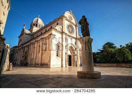 Cathedral Of St James In Sibenik, Croatia.