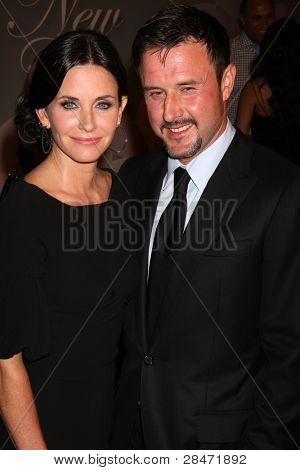 LOS ANGELES - JUNE 1: Courteney Cox, David Arquette at the 2010 Crystal & Lucy Awards at the Century Plaza Hotel, Century City, Los Angeles, CA on June 1, 2010
