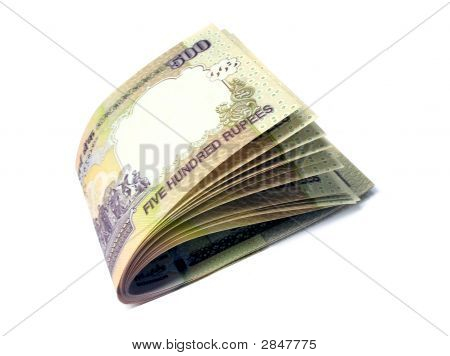 Indian Currency-Inr 500-